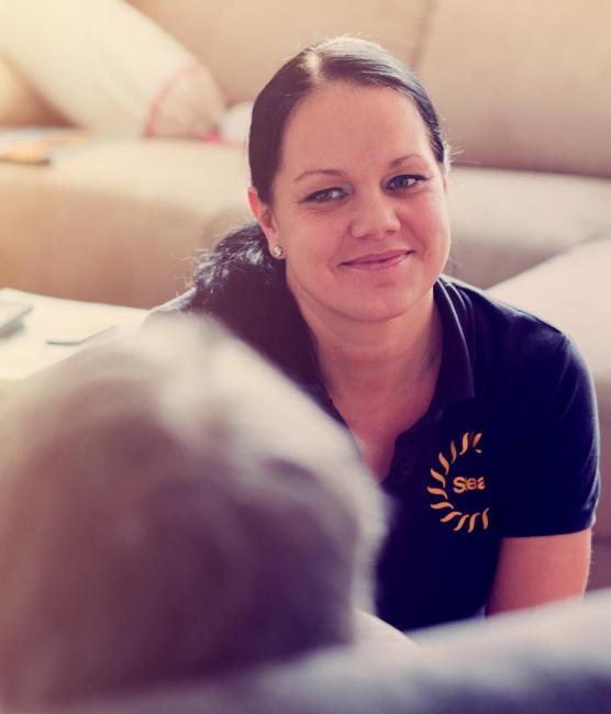 Stellan hoitajilla on aina aikaa kuunnella asiakkaansa toiveita