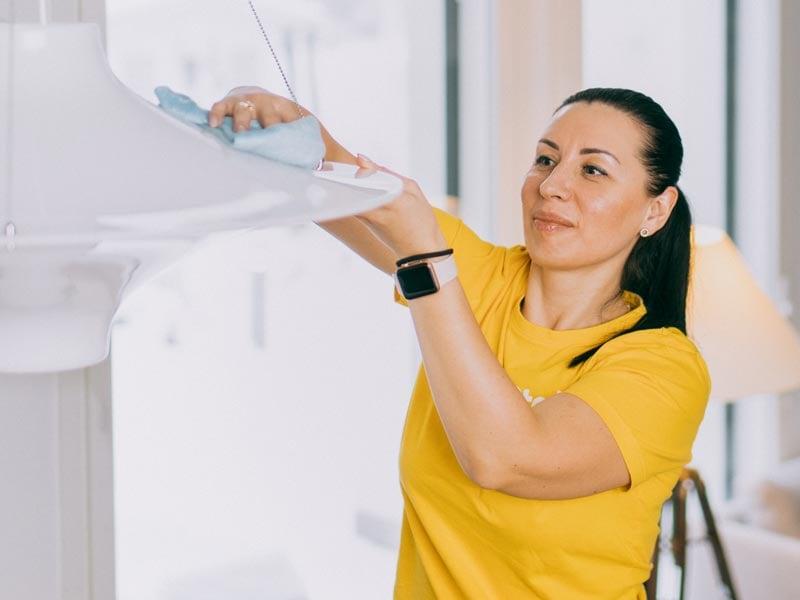 Kotisiivous: Puhdasta jälkeä koko kodissa