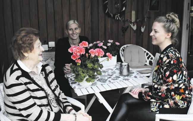 Ruth on tyytyväinen Stellan kotisairaanhoidon palveluiden käyttäjä