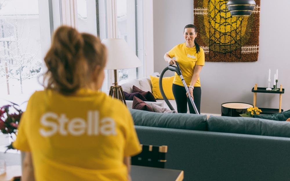 Stellan kotisiivouksilla on 100 %:n tyytyväisyystakuu